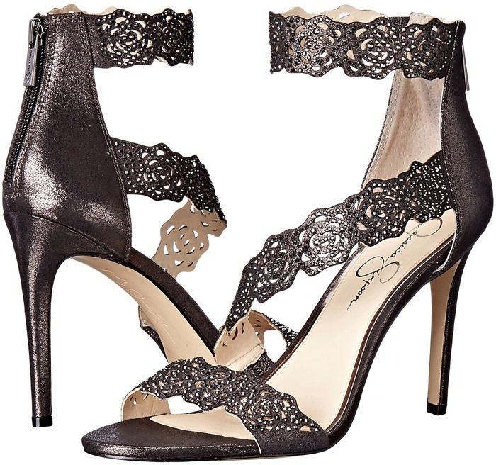 Jessica Simpson 'Geela' Crystal Embellished Sandals