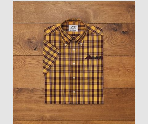 Dr. Martens X Brutus Trimfit Shirt. Part of our Spirit of 69 Collaboration Collection.