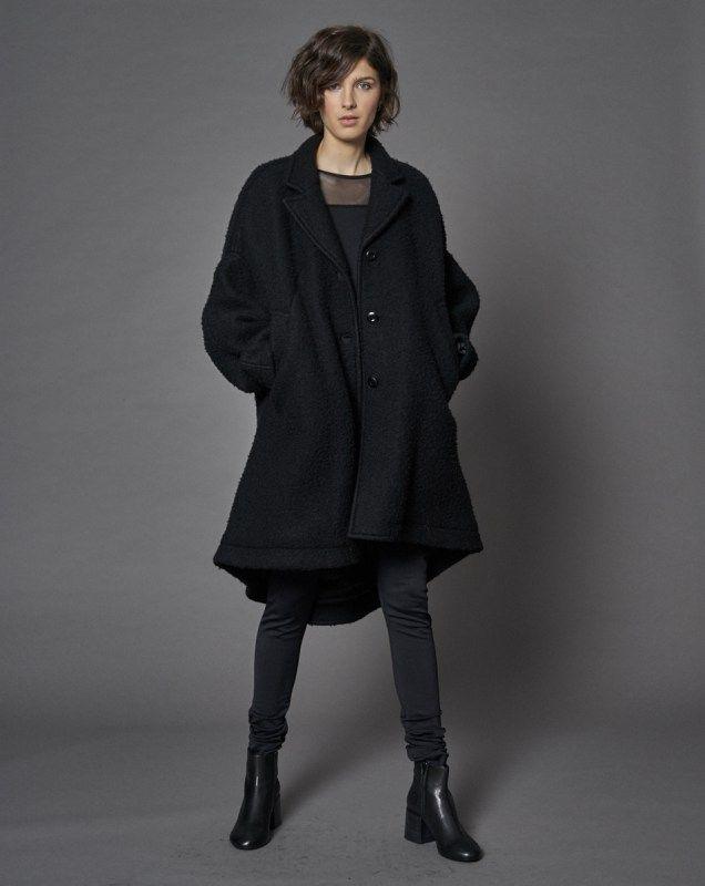 Black Coat - MM6 - Keen Stockholm