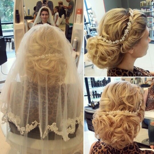 Beautiful#bride#wedding#hairstyle
