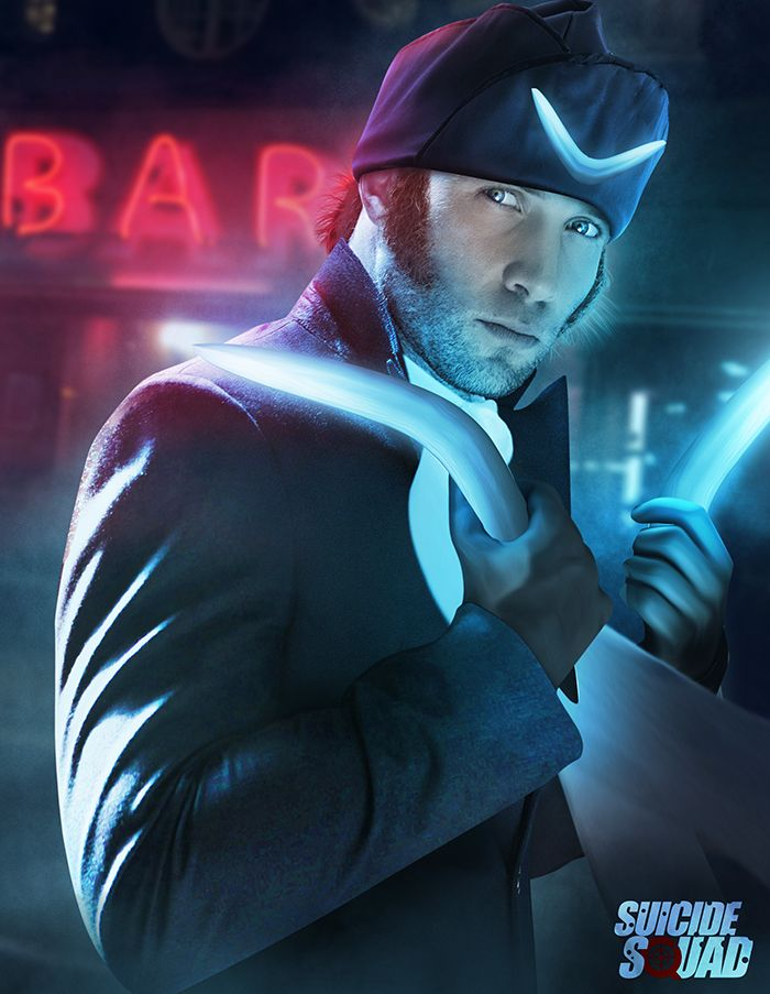 Outstanding Photoshop Renderings of the SUICIDE SQUAD Cast by Kode Logic — GeekTyrant. Jai Courtney as Captain Boomerang.