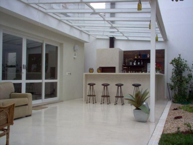 Pergolado , telhado e claraboias de aluminio vidro