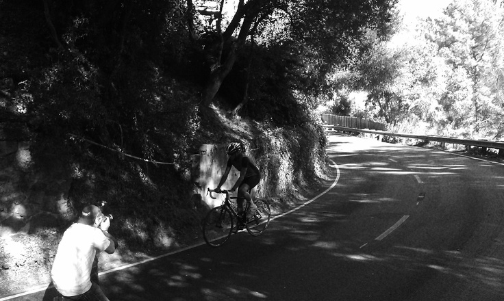 Isadore - Black and white riding #cyclingmemories