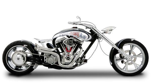 Orange County Choppers - #OCC - Hewlett Packard Bike