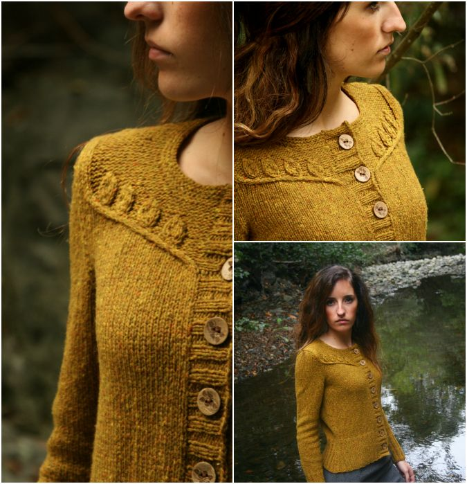 Twigs and Willows-- This pattern is part of my new design book, Botanical Knits, due out February 2013.