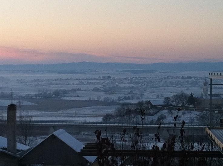 Suceava// winter// window view