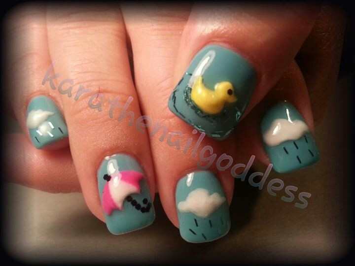 The 148 best Acrylic Magic images on Pinterest | Holiday nails, Nail ...