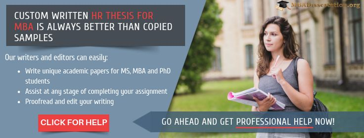 Phd thesis in hr management