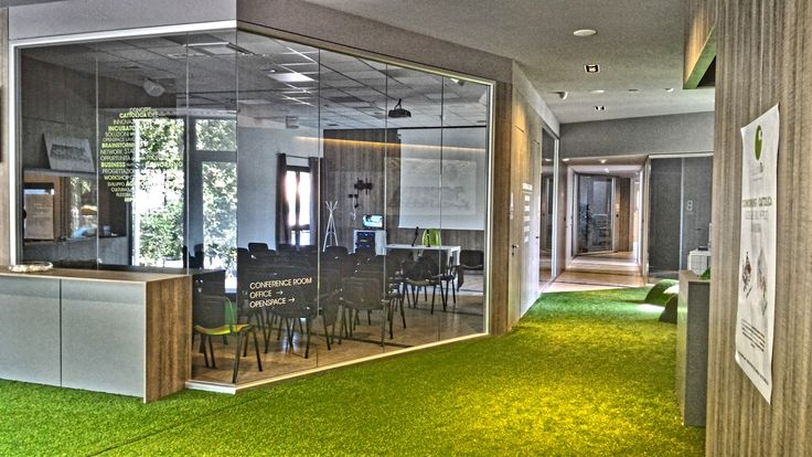 office conference room meeting room green grass