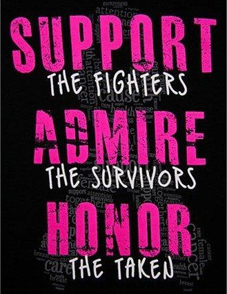 #breastcancer #awareness #survivors                                                                                                                                                     More