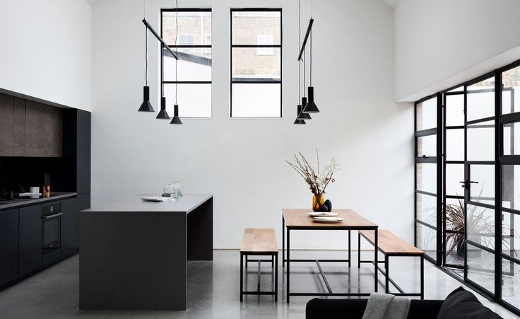 Architect and founder of Paper House Project, James Davies, converted this ex-schoolhouse in Hackney into a light and airy living space.