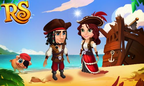 Pirate's dress for the princess and pirate's outfit for the prince!  Are you ready to sail for adventures in high seas and discover new land? #royalstorygame