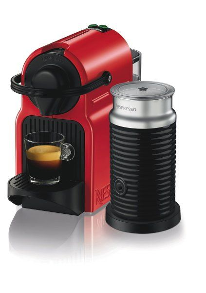 Nespresso BEC200XR Breville Inissia Bundle Red at The Good Guys