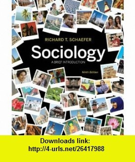 7 best ebooks on line images on pinterest tutorials before i sociology a brief introduction 9th edition 9780073528267 richard t schaefer isbn fandeluxe Gallery
