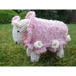 Kit tricot adulte -  Mouton à tricoter ROSE