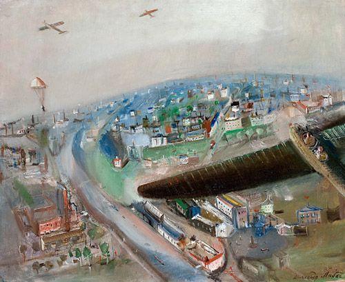 Александр Лабас. В полёте. 1935 г.