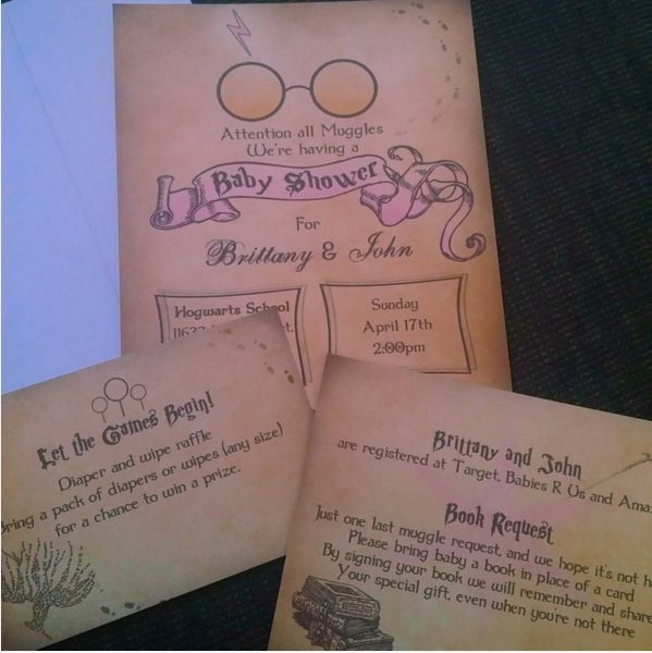 What else do you need to know? Oh! That Harry Potter–themed baby showers are a thing. | 23 Ways To Have The Ultimate Harry Potter Pregnancy