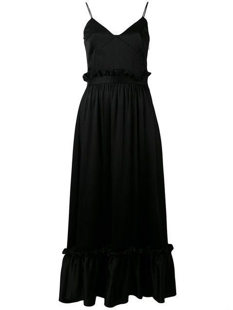 MSGM 시프트 미디 드레스