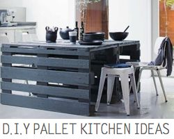 LInk to D.I.Y Pallet Ideas for the kitchen