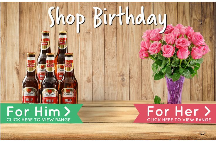 Birthday Presents for Him or for Her