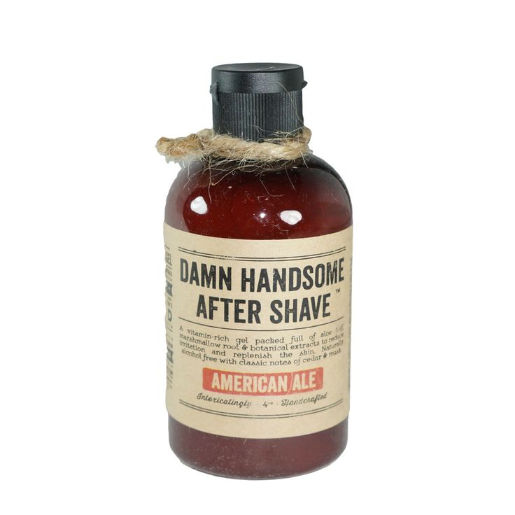 American Ale After Shave Gel // Damn Handsome // Society B - Fair Trade Products and Gifts that Give Back - 1