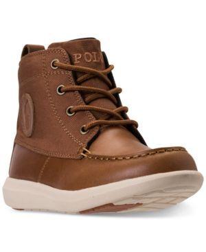 Polo Ralph Lauren Toddler Boys' Ranger Sport Boots from Finish Line - TAN 10