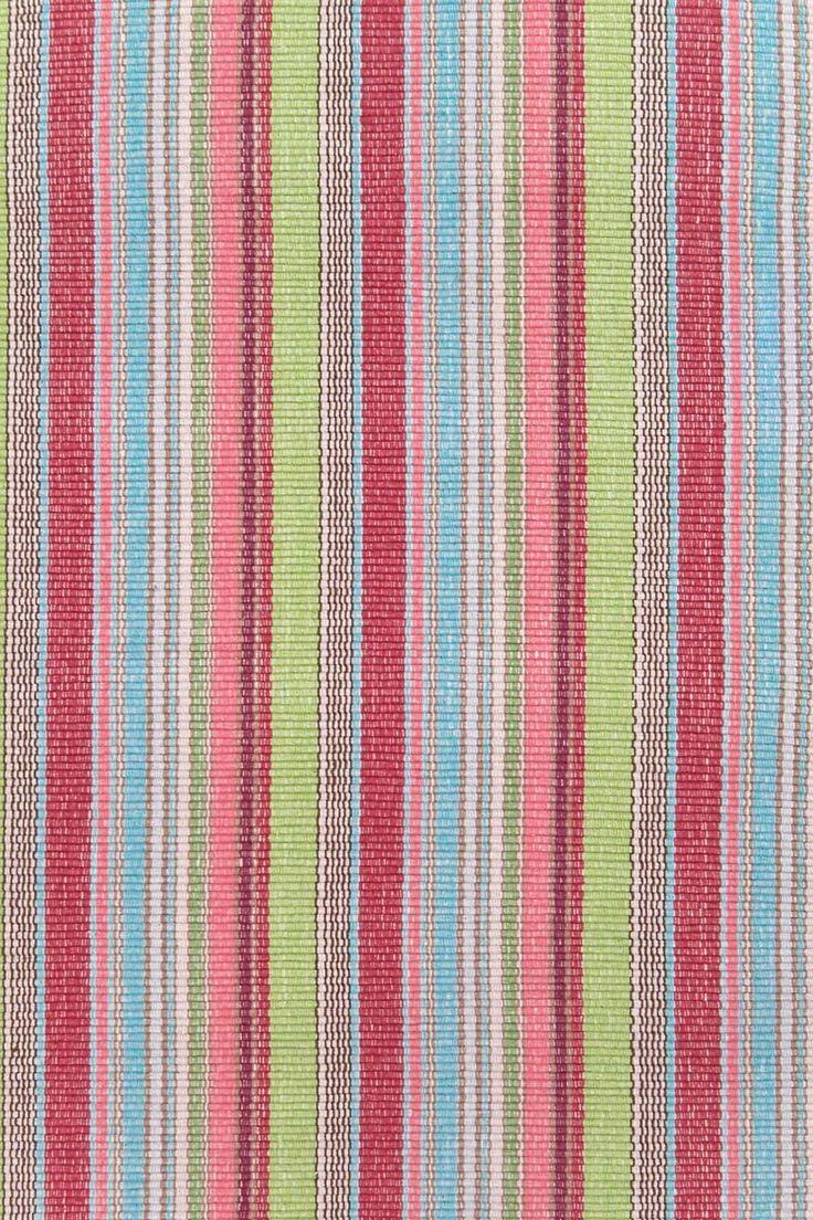 Style selections eva peva print multi fish shower curtain at lowes com - Taffy Stripe Cotton Woven Rug