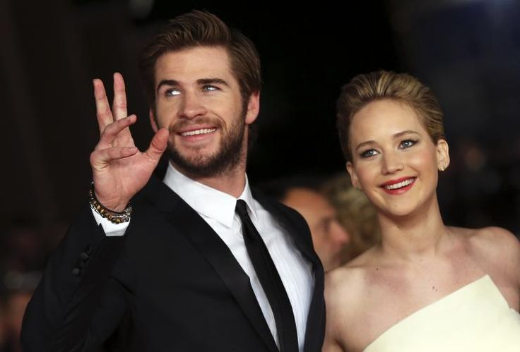 Liam Hemsworth and Jennifer Lawrence (come on!!  Just get together already!)