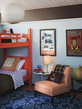 barrie benson kid's roomOrange Bunk, Barry Benson, Bunk Beds, Big Boys, Kids Room, Boy Rooms, Kid Rooms, Boys Room, Bunkbeds