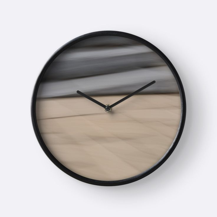Abstract Wave clock by Galerie 503