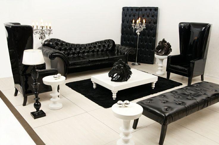 Black and White Lounge Pod... A Bold Statement