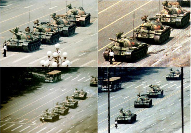 Tiananmen Meydanı, Pekin, Çin, Haziran 5, 1989
