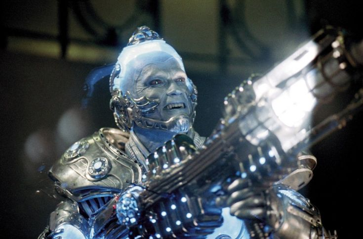 Mister Freeze (Batman et Robin) = Arnold Schwarzenegger