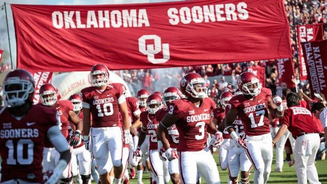 2016 Oklahoma Sooners Football Schedule