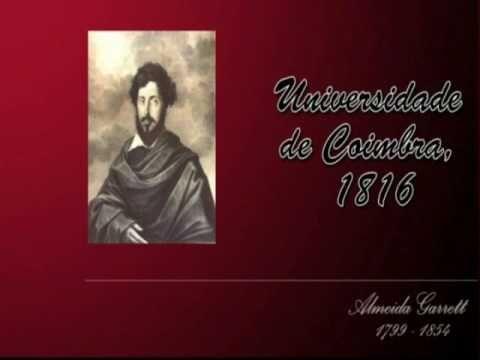 Memorial a Almeida Garrett - YouTube