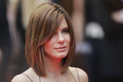 cortes de cabelo chanel longo com franja de lado