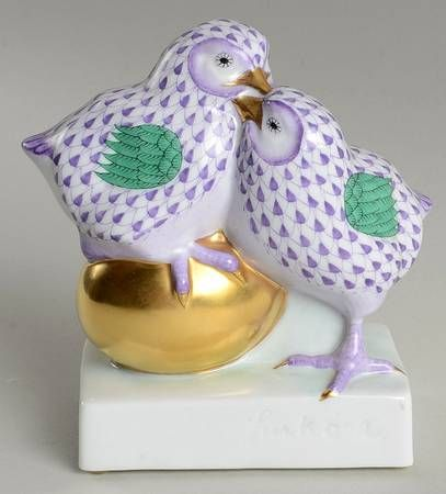 Your Favorite Brands Bunnies, Chicks, and More Chicks-Lavender Golden Egg - No Box Nb1307