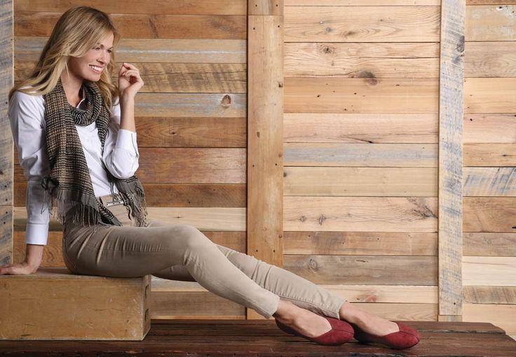 Camie Ballet Flat  - Black, Womens Comfort Shoe - Aetrex Worldwide Orthotic Comfort Shoes