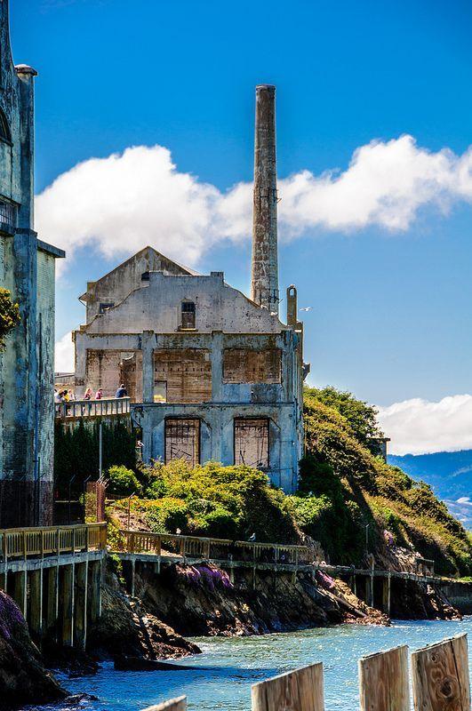 Alcatraz Prison ~ San Francisco Bay, California