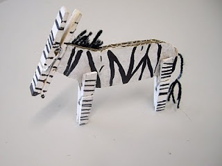 Zebras art project