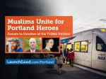 Muslim Amerika galang bantuan untuk korban Portland  WASHINGTON (Arrahmah.com)  Dua kelompok Muslim Amerika telah mengumpulkan dana lebih dari $ 500.000 untuk korban serangan kereta Portland pekan lalu lansir CNN pada Kamis (1/6/2017).  Kampanye bertajuk Muslim Bersatu untuk Pahlawan Portland menyatakan bahwa mereka ingin menanggapi kebencian dengan cinta kejahatan dengan kebaikan seperti yang diajarkan oleh agama kami dan mengirim pesan belas kasih yang kuat melalui sebuah aksi nyata…
