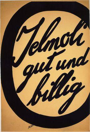 """Jelmoli - Good and Cheap"" by Ernst Keller, 1924."