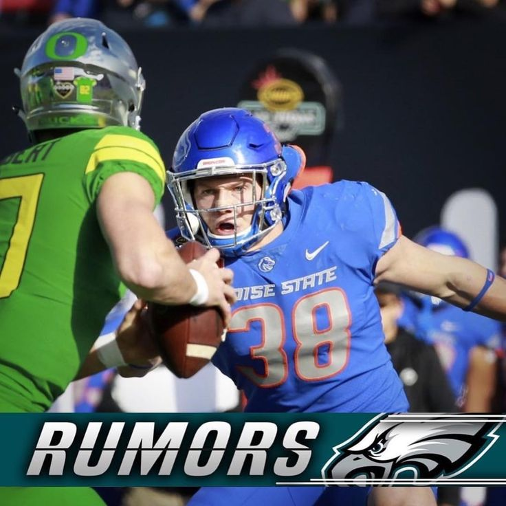 RUMORS: According to NFL Draft Analyst Tony Pauline he reports that the Philadelphia Eagles are in love with Boise State LB Leighton Vander Esch and would pick him with the 32nd overall pick if hes still available.  #EaglesNation #FlyEaglesFly #Philadelphia #Philly #GangGreen #BleedGreen #PhiladelphiaEagles #NFL