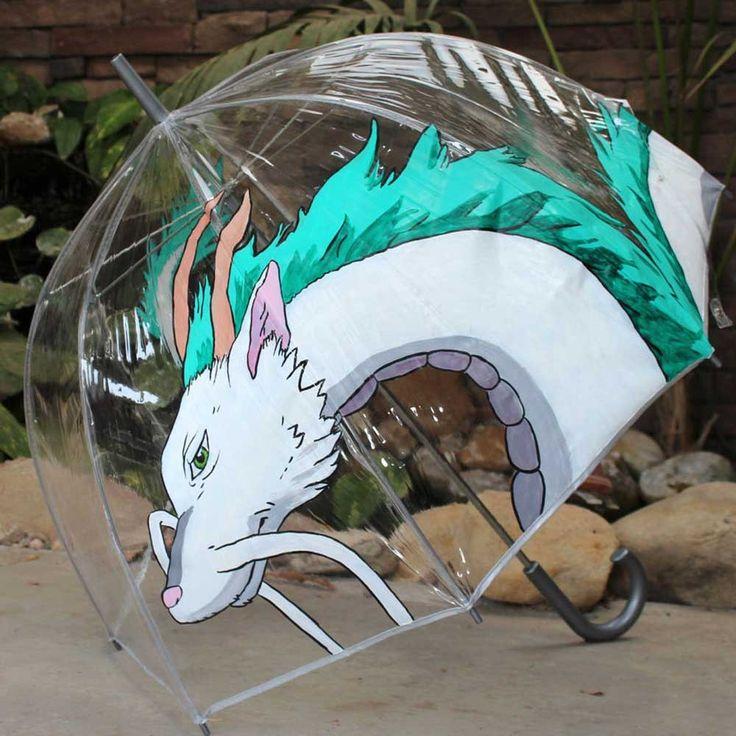 Spirited Away Haku Umbrella