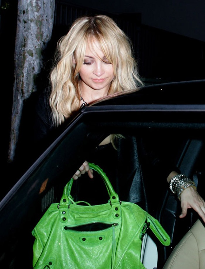 Nicole Richie and her Many Balenciaga Bags