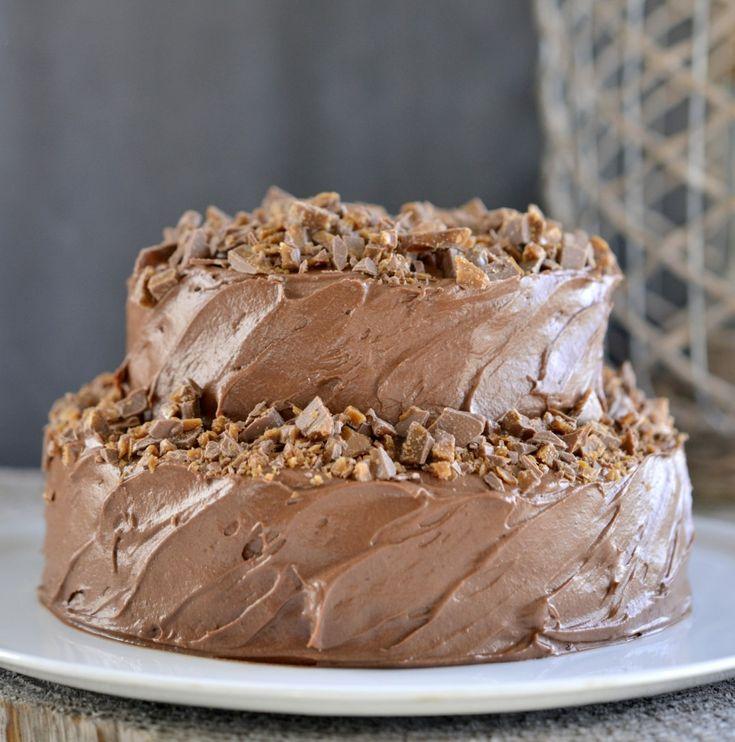 nyttårskake / chocolate cake / chocoladetaart #recept #recipe #chocola