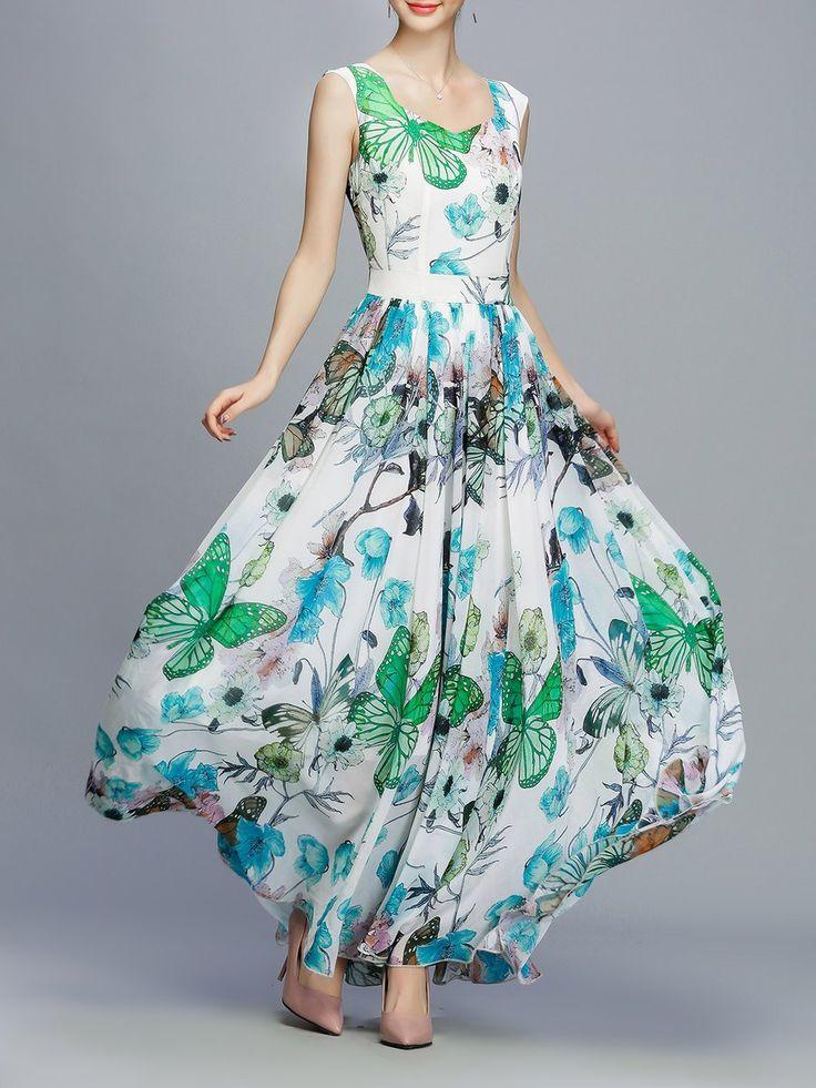Shop Mini Dresses - Green Sleeveless V Neck A-line Mini Dress online. Discover unique designers fashion at StyleWe.com.
