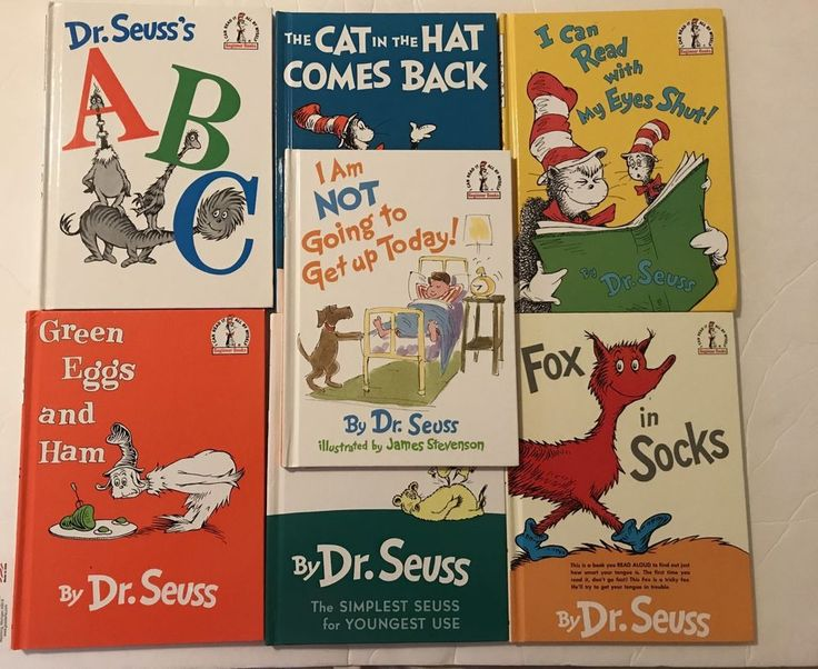 Lot Of 7-I Can Read It All By Myself Dr.Seuss Beginner Books    eBay