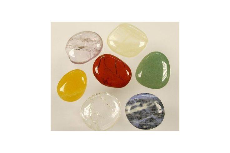 Pack 7 piedras de los 7 chakras