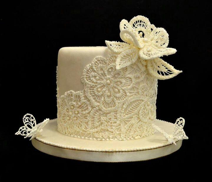 535 best cake lace images on Pinterest | Amazing cakes, Beautiful ...